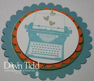 Telescoping Typewriter closed