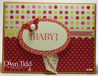 Jenni's Baby Card