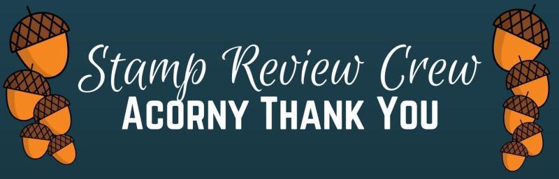 Acorny Thank You banner