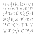 Brushwork Alphabet